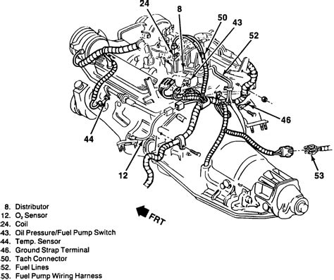 Chrysler Engine Knock Sensor Wiring Diagram by 5 7l Tbi Engine Coolant Diagram 5 Wiring Digrams Car For