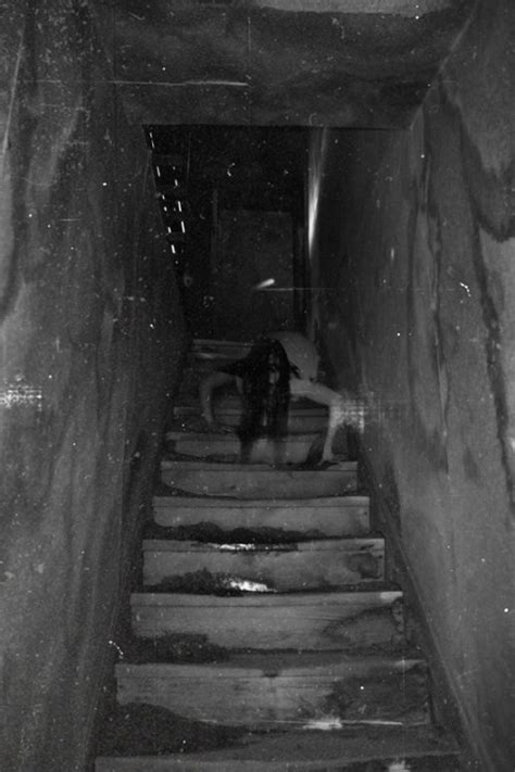 Scary Photography Creepy Stairs Yikes Batwingdreams •