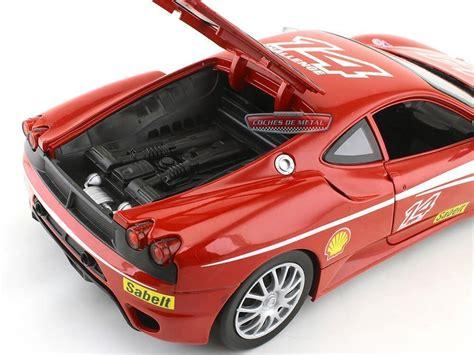 Hot wheels ferrari f430 challenge red 2010 akta. 2005 Ferrari F430 Challenge Rojo 1:18 Hot Wheels P4403
