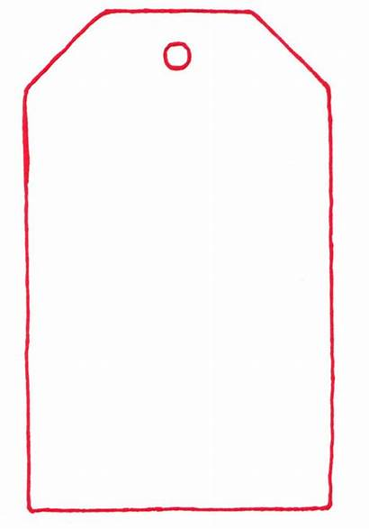 Tag Template Templates Christmas Tags Crafts Gift