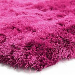 tapis doux salon couleur framboise 120x170cm With tapis framboise salon