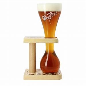 Verre A Biere : verre bi re kwak 33cl avec support bois ~ Teatrodelosmanantiales.com Idées de Décoration