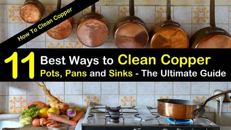 ways  clean copper pots