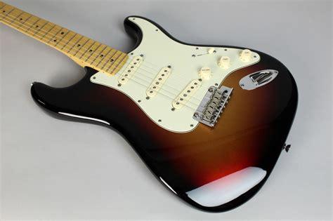 imperial vintage guitars 2013 fender american deluxe strat plus mystic 3 tone sunburst guitar