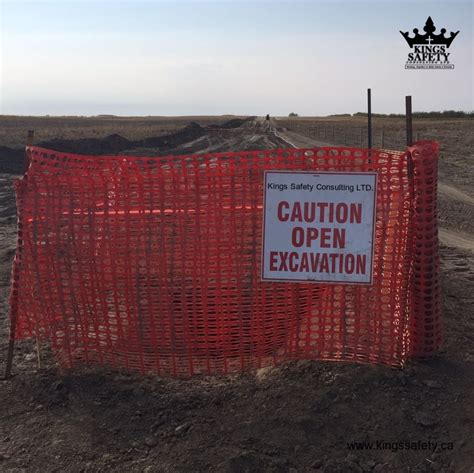 excavation  trench creates  danger  workers