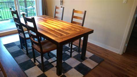 table cuisine bois table de cuisine en bois table de cuisine sur mesure de tout style