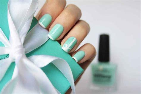 20 Posh Tiffany Blue Nail Polish Designs