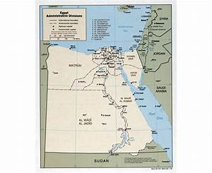 Maps of Egypt   Detailed map of Egypt in English   Tourist ...