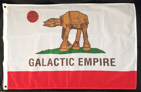 6ft' x 4ft' Galactic Empire Flag (California Colorway ...