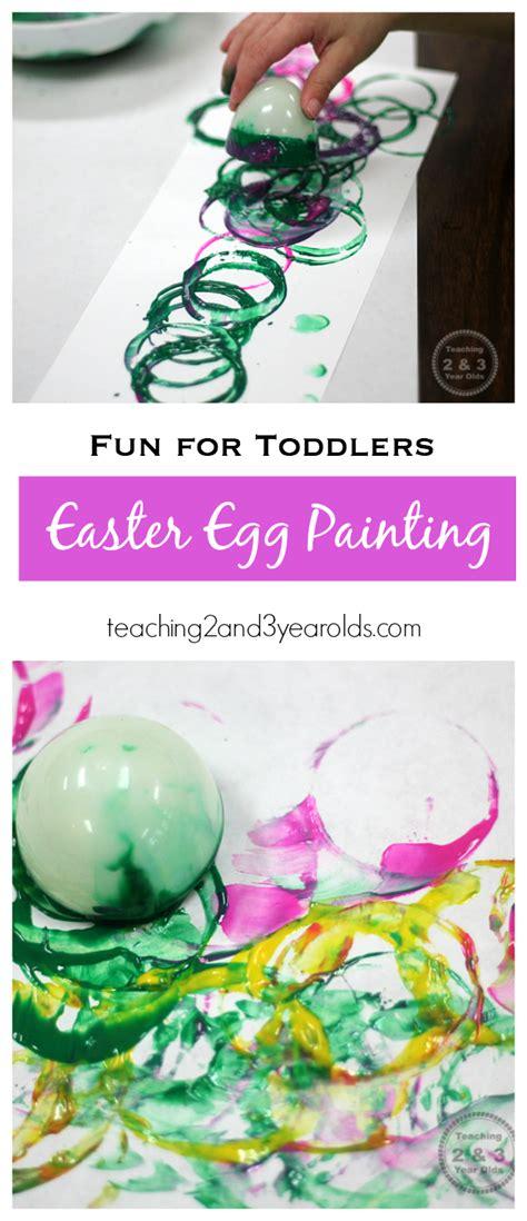 easy toddler art  easter eggs toddler art easter