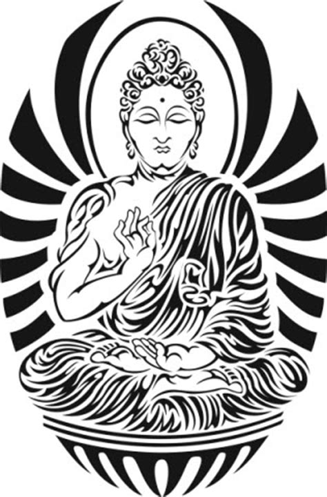 Tribal Buddha | TattooForAWeek Temporary Tattoos Largest