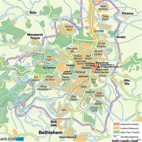 maps  jerusalem maps
