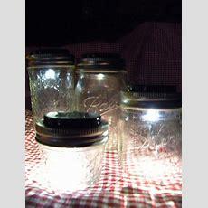 10 Solar Lid Light For Mason Jar Lights Turns On