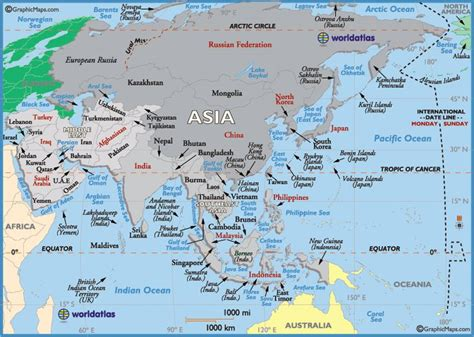 map  asia countries asia pinterest country maps