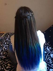 How To Get Crazy Blue Dip Dyed Hair Easily
