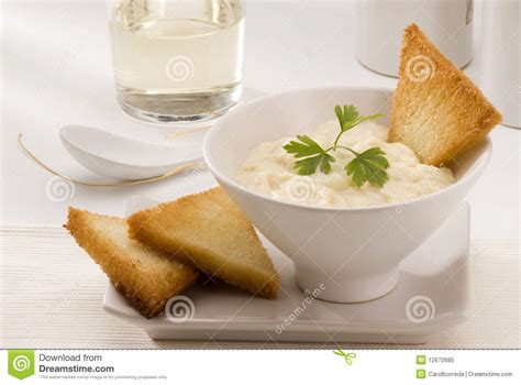 Boil potatoes in their skin until tender. Spanish Cuisine. Salt Cod With Mashed Potatoes. Stock Image - Image of mashed, european: 12672685