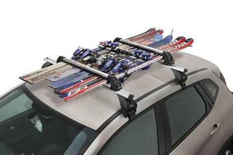 porta sci per auto portasci per barre porta sci scorrevole in alluminio