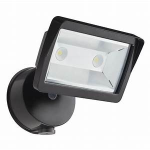 Flood lights for lawn : Lithonia lighting bronze outdoor integrated led wall mount