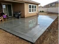 best existing concrete patio design ideas Front Concrete Patio Ideas