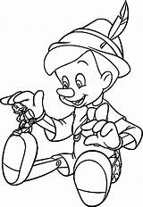 Pinocchio Coloring Pages Boys Disney Wecoloringpage Colouring Characters Read sketch template