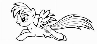 Coloring Pony Apple Jack Printable Birthday Fluttershy