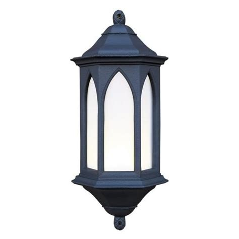 exterior light york outdoor garden black