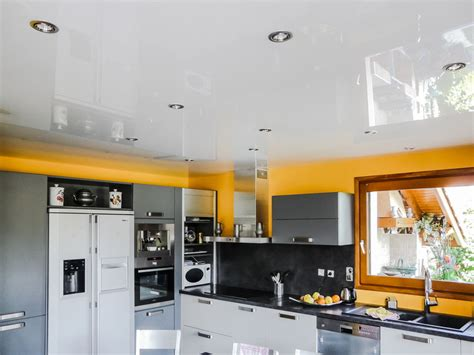 faux plafond cuisine design beautiful faux plafond salle de bain spot images home