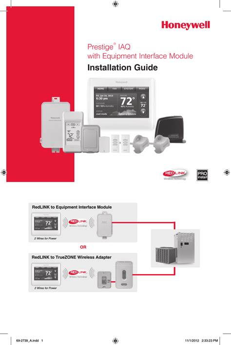 Honeywell Prestige Wiring Diagram by Honeywell Thx9421r02 Thx9421r02 User Manual 1