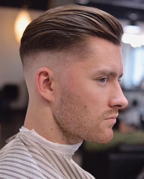 side part pompadour hairstyle fine hair haircut hair  beard style pinterest fine hair