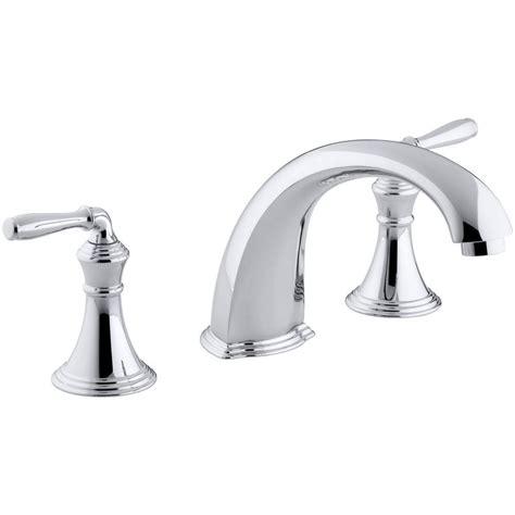 kohler devonshire faucet kohler devonshire 2 handle deck and mount tub
