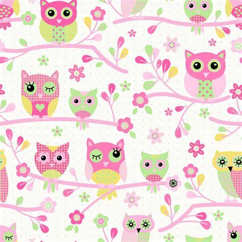 debona owls wallpaper pink decorating diy