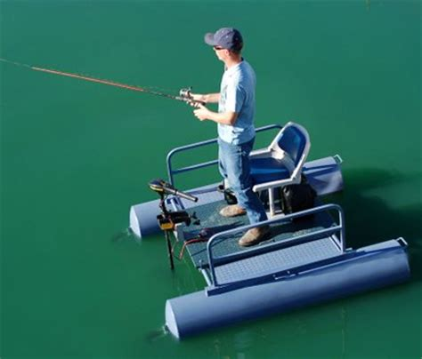 One Person Boat by Brand New 6 Ft One Person Mini Pontoon Fishing Boat