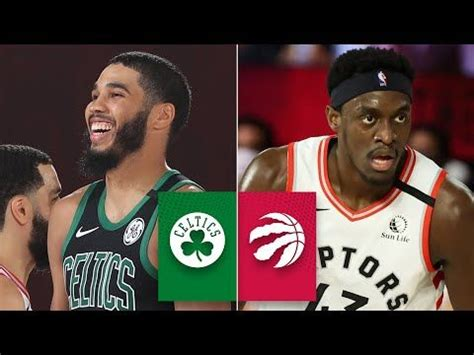 Boston Celtics vs. Toronto Raptors [GAME 1 HIGHLIGHTS ...