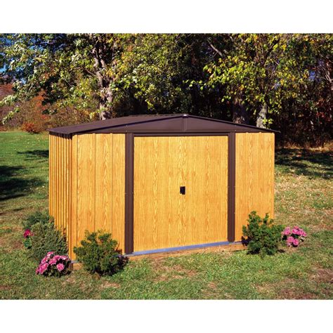 Suncast Garden Shed Accessories by Suncast 8 X 10 Shed Vanilla Walmart