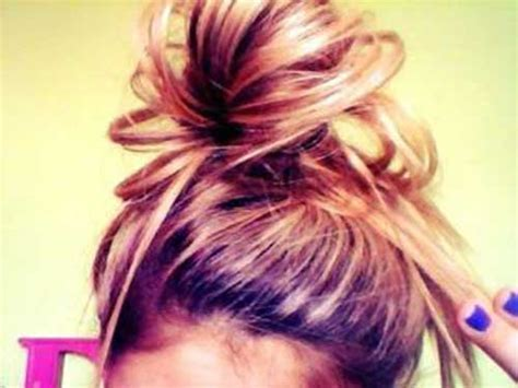 20 Messy Bun Hairstyles for Long Hair   Long Hairstyles