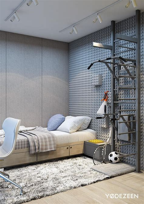 Fortress Bedroom Design by Fortress Turned Family Home Interior Walls Cool