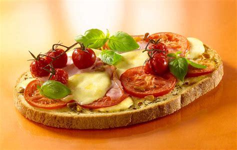 recette de bruschetta tomate mozzarella la boulangere