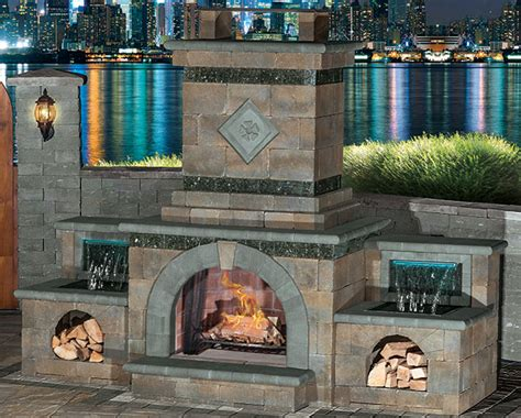 Menards Patio Paver Kits by Cambridge Outdoor Living Fireplace Kits