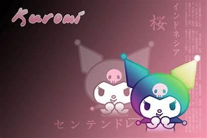 Kuromi Melody Wallpapers Kitty Hello Cartoons Iphone