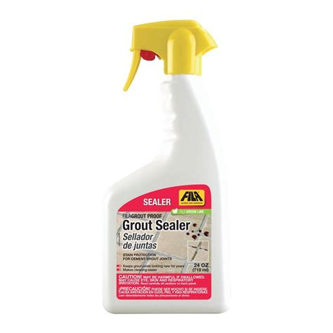 fila grout proof 24 oz tile and stone sealer 44750612ame