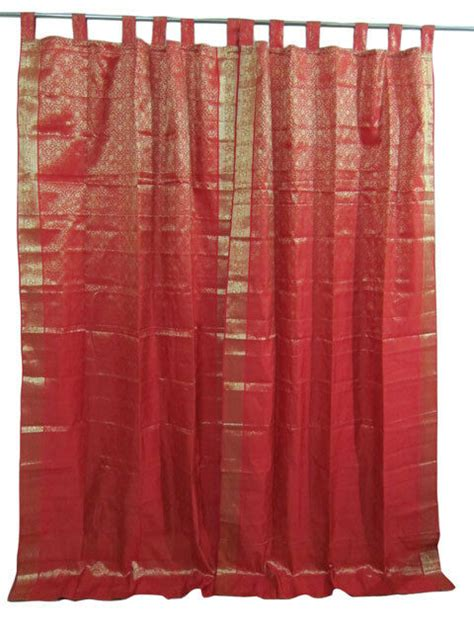 Drapes India - indian sari curtains saree curtain india drapes