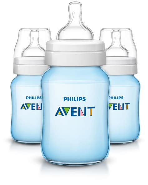 Philips 3 Pack 9 Ounce Anti Colic Baby Bottles