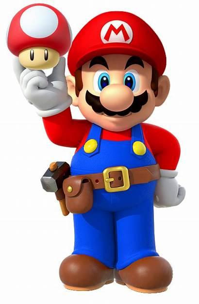 Mario Super Clipart Maker Brothers Nintendo Mushroom