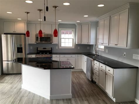 Kitchen Countertops Hawaii by Black Quartz Countertops Kitchen Eclectic With Slab