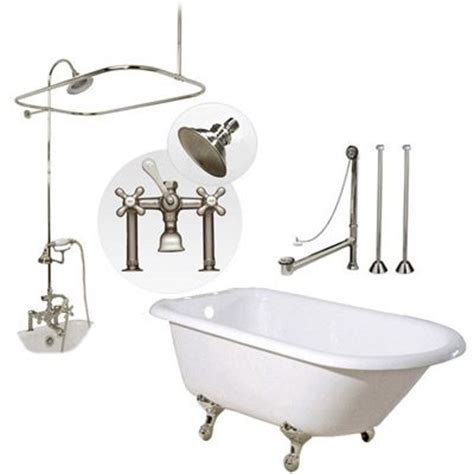 45 ft bathtub 45 best images about clawfoot tub shower on