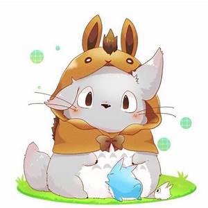 Anime movie: My Neighbor Totoro Character: Totoro #anime# ...