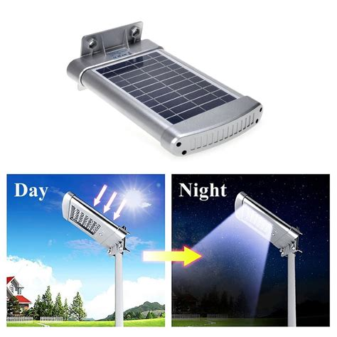 solar street l post solar wall mount street lights outdoor waterproof deck