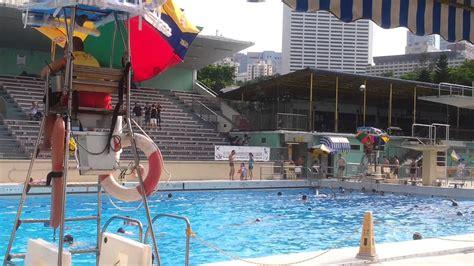 hong kong victoria park swimming pool  day youtube