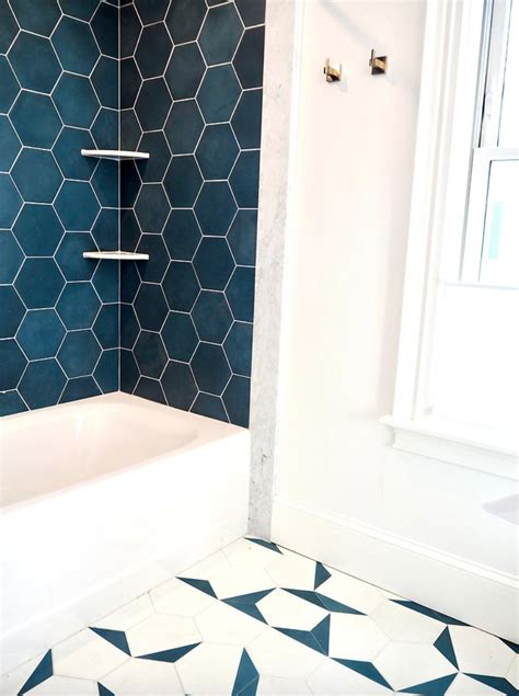 colorful bathroom tiles  coming
