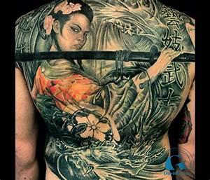 Tatouage Arbre Japonais : tatouage dos graphicaderme ~ Melissatoandfro.com Idées de Décoration